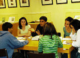 Class of 2009 in a Group Discussion