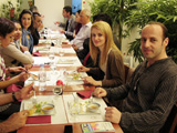 Chapter Group Lunch at Musee Guimet 2011.