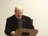Agostino Cilardo University of Naples giving his lecture IIS 2011