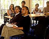 IIS students and staff at the Aluka presentation