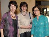 L to R: Amila Buturovic, Selma Zecevic and Ruba Kana'an of York University IIS 2011.