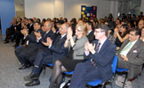 Audience at IIS celebration event 2011.
