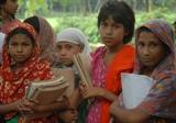 Children from a BRAC school
