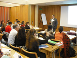 Dr Hussein Rashid during his session 'Contemporary Issues - How Do We Understand and Respond?' IIS 2011.