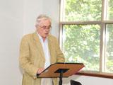 Stefan Wild University of Bonn giving his lecture IIS 2011