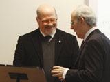 Co-Director Dr Daftary and Agostino Cilardo of the University of Naples IIS 2011