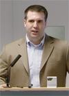 Mr Daniel Beben at the lecture; IIS 2013