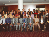 Alumni and Staff with Dr Esmail on the last day of 2011 Academic Seminar; IIS 2012.