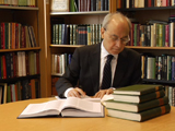 Dr Daftary, Co-Director of the IIS, in his office; IIS 2012