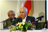 Dr SJ Badakhchani giving his presentation at the conference.