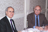 Dr Farhad Daftary and Paul Walker