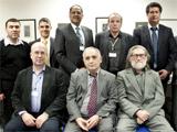 Standing (Left to Right): Sultonbek Aksakolov, Muzaffar Zoolshoev, Aptin Khanbaghi, Farid Daya, Janis Esots, Hakim Elnazarov, Amyn Ahamed. Sitting (Left to Right): Andrey Smirnov, Davlat Khudonazarov, Stanislav Prozorov; IIS 2013