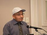 Prof Ismail K. Poonawala, the honoured guest.Photo: Peggy McInerny UCLA 2013