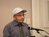 Prof Ismail K. Poonawala, the honoured guest. Photo: Peggy McInerny UCLA 2013.