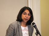 Dr Sumaya Hamdani.Photo: Peggy McInerny UCLA 2013
