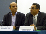 Mohamud Karim, Chairperson ITREB Canada with Zahir Ladhani, Vice-President ITREB USA, and AL-Karim Alidina, Chairperson ITREB USA; IIS 2012