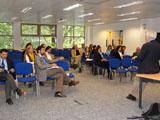 Kees Versteegh University of Nijmegen giving his lecture IIS 2011