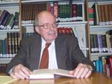 Professor Wilferd Madelung, Senior Research Fellow IIS 2012.