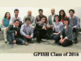 New GPISH students join the IIS family.