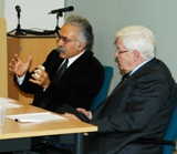 Professor Amir-Moezzi and Professor Eric Ormsby