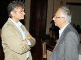 Professor Tayob in conversation with Shiraz Thobani Alumni Academic Seminar 2010.