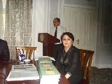 Dr Ramazon Nazariev & Professor Umeda Ghafforova