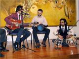 Sama performing at the celebration; IIS 2013
