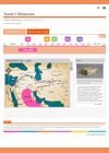 A screenshot of one of the web pages of the Nasir map project.