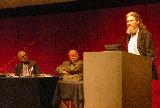 Professors Azim Nanji, Oleg Grabar and Oliver Leaman