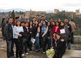 STEP students in Spain as part of their studies