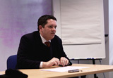 Dr Stephen Burge, Qur'anic Studies Research Associate.