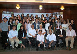 group picture of participants and faculty members