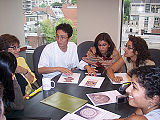Participants in Group Discussion