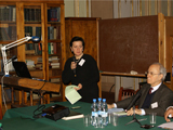Prof. Irina Fyodorovna Popova, the Director of the IOM IIS 2012.