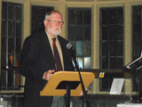 Dr Tom Kessinger of AKF giving the Keynote Address at the Summer Programme on Islam IIS 2011