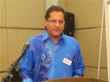 Vice-President Jamal Surani; IIS 2012.