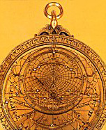 Astrolabe (1309-10) inscribed Ahmad bin Husayn bin Baso.Reproduced by permissionof UNESCO-kommisjonen.Copyright: King Faisal Center for Research and Islamic Studies.