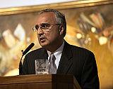 Professor Azim Nanji concluded the ceremony