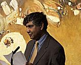 Dr Alnoor Dhanani addressed the congregation