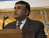 Dr Shafik Sachedina opened the proceedings