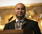 Amaan Pardhan gave the Vote of Thanks at the ceremony