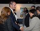 Prince Rahim being greeted by the leadership of the IIS Alumni Association Chapter Groups