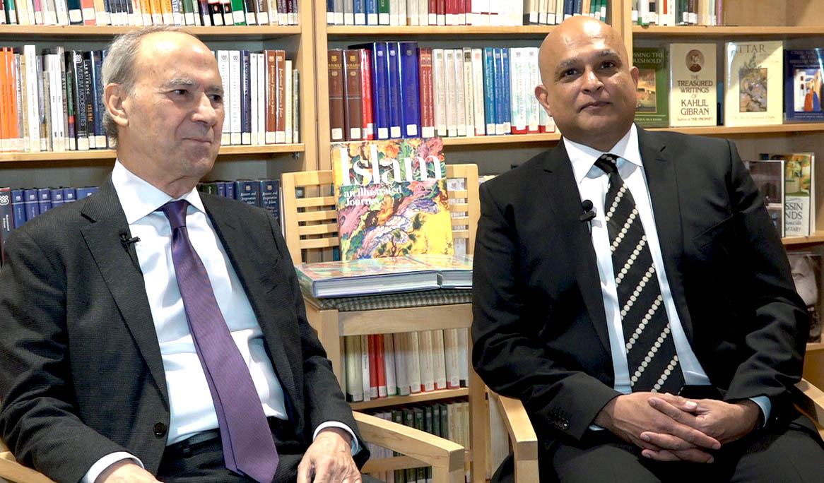 Dr Daftary & Professor Hirji in interview