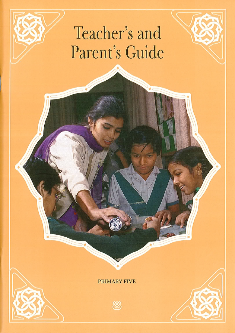 The Teacher's and Parent's Guide is the main reference source for implementing the curriculum. It is designed for use in diverse teaching and learning environments, including the classroom and the home. The Guide contains a general introduction to the aims and approaches of the curriculum. It also provides a series of structured topic plans, each consisting of objectives, instructional content, learning activities, and other useful suggestions.