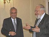 Professor Azim Nanji & Professor Rastislav Rybakov