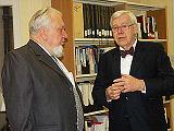 Professor Rybakov with Professor Ormsby