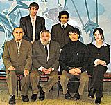 IIS-Sponsored Students with Prof Kamenskiy and Prof Karamshoev