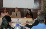 Dr Bianca, Dr Virani and Saleh at the Acedemic Seminar