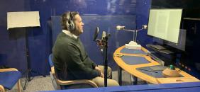 Inside the Recording Studio: Making the Audiobook of The Prophet Muhammad