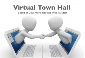 New Board of Governors Shares Vision for IIS at First Town Hall